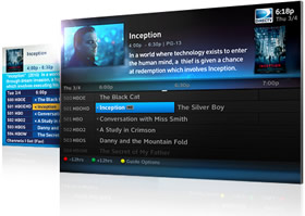 DIRECTV HD On Screen Guide