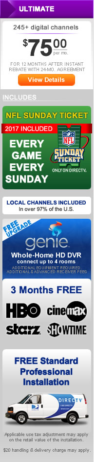 DIRECT TV Choice Ultimate Package