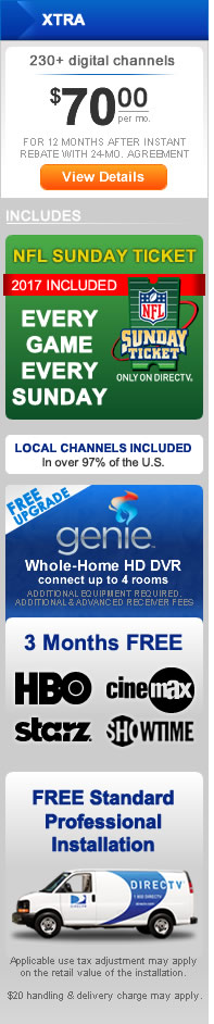 DIRECT TV Choice Xtra Package